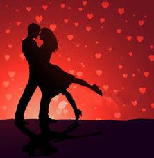 Valentine dancers